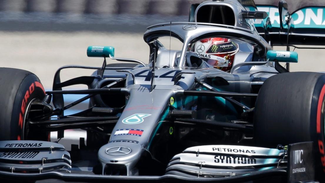 DIFFUSION COURSE F1 de Grande-Bretagne à Silverstone 2020