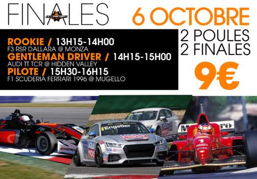 FINALE F3 RSR DALLARA/ AUDI TT TCR / F1 SCUDERIA FERRARI 1996