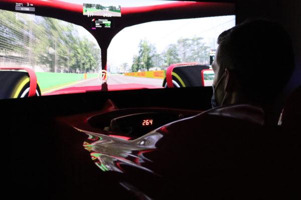 F1 simulation Formule 1
